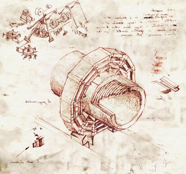 LHC da Vinci