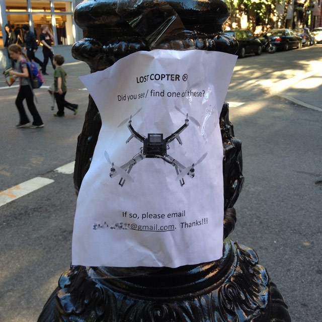 Lost Drone Poster