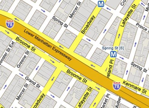 Lower Manhattan Expressway