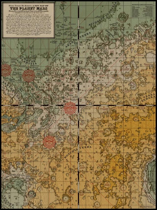 Mars Medieval Map