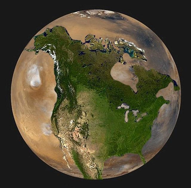 Mars vs USA