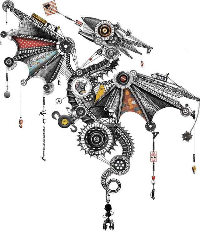 Mechanical Dragon