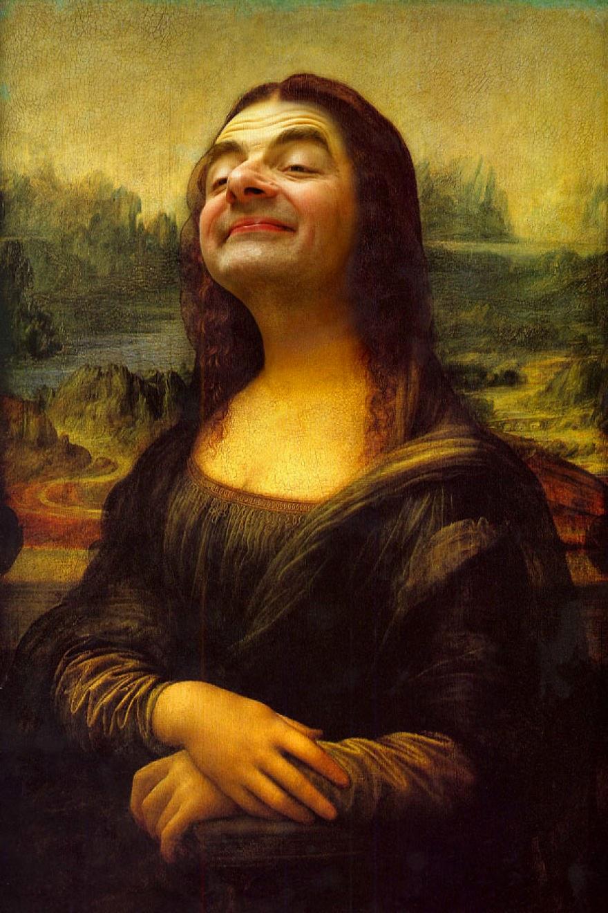 Mr Bean Photoshopped