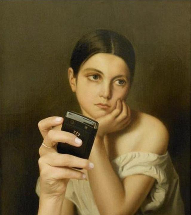 Museum Selfies