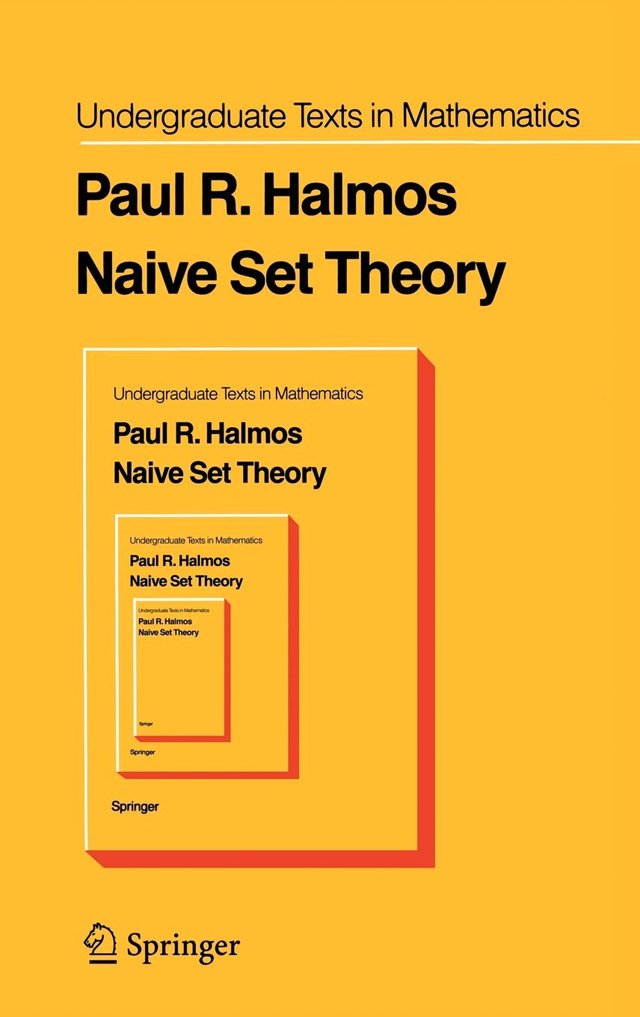 Naive Set Theory Cover