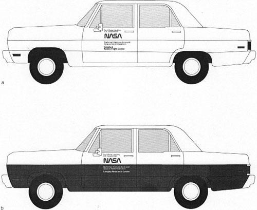 NASA Cars 1976
