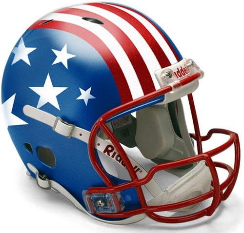 New Pats helmet