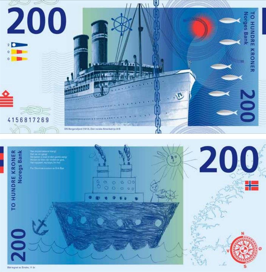 Norway Banknotes Gurholt