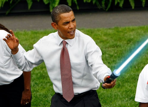 Obama Lightsaber 01