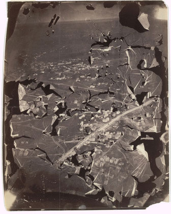 oldest surviving aerial photo
