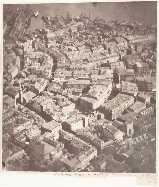 oldest surviving aerial photograph