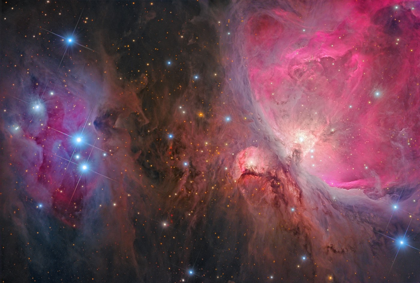 The Orion Nebula, our friendly neighborhood star factory
