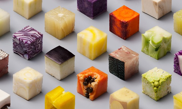 perfect cubes of food. Black Bedroom Furniture Sets. Home Design Ideas