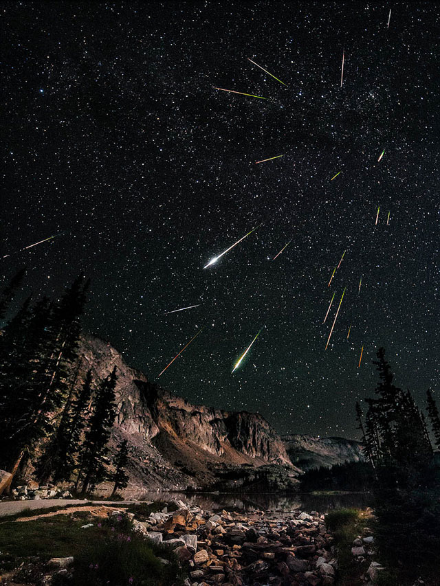 Perseids Composite