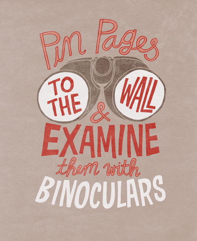 Pin Pages To Wall