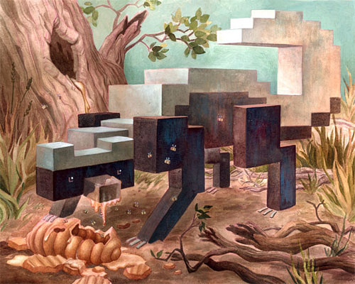 Pixel Honey Badger