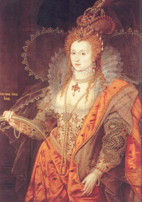 queen elizabeth 1 portrait. of Queen Elizabeth I