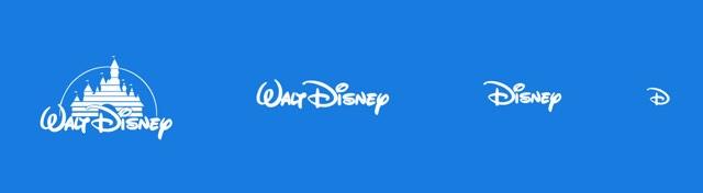 Responsive Disney Logo