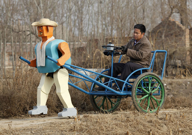 Rickshaw Robot