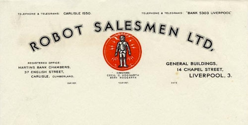 Robot Salesmen Ltd.