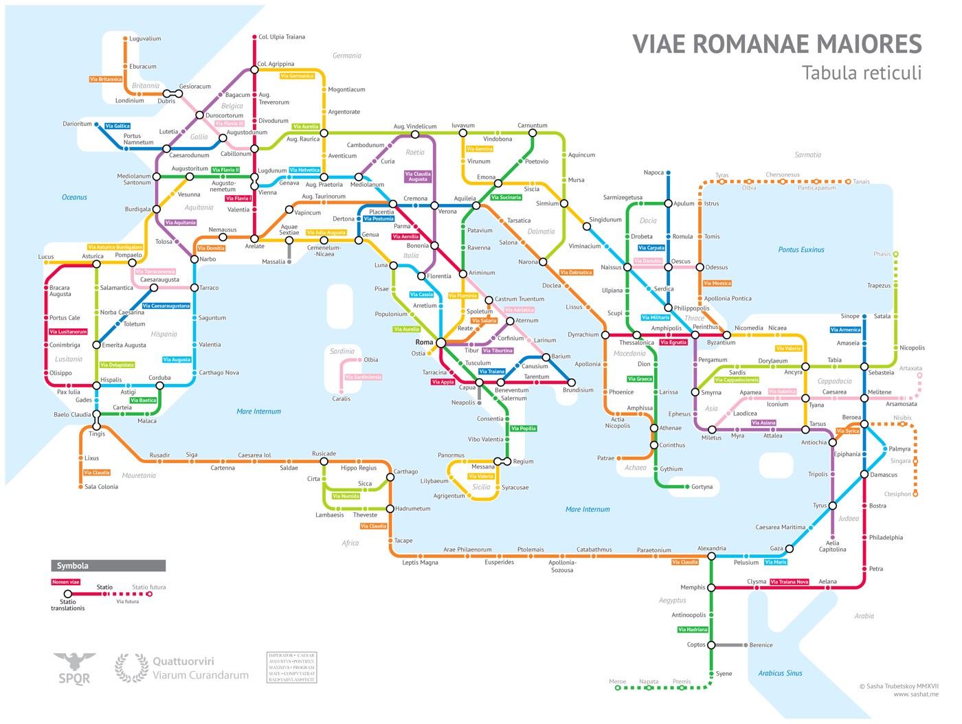 Roman Empire Subway