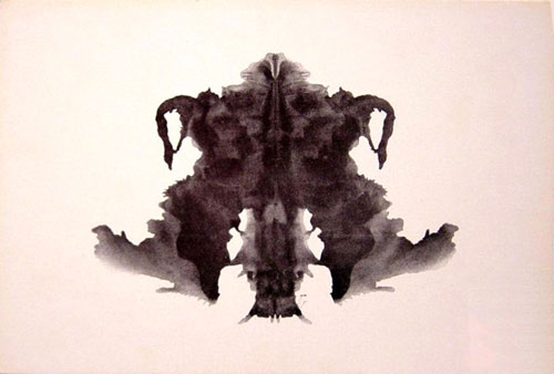 Rorschach inkblot