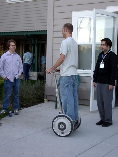 Kottke on a Segway