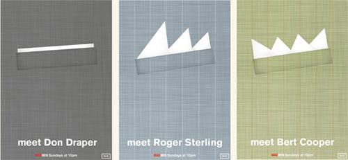 Simple Mad Men posters