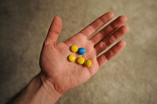 Simpsons M&Ms