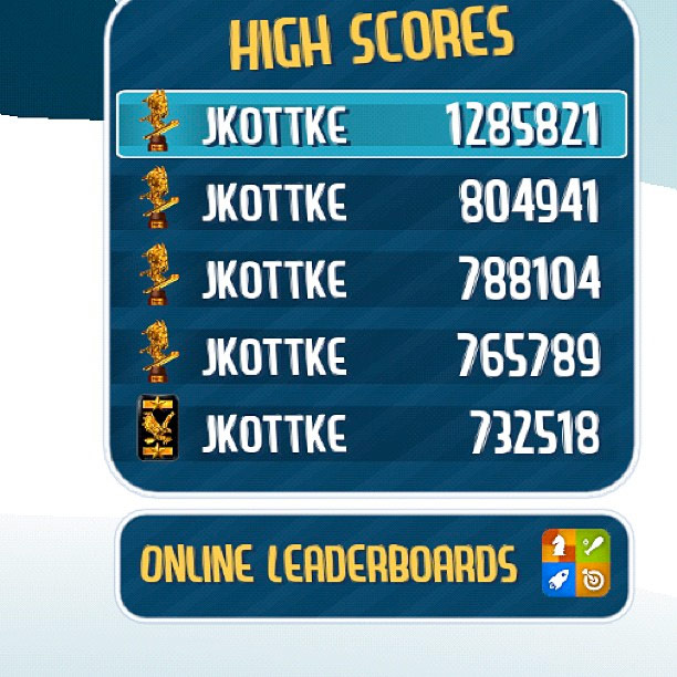 Ski Safari High Score