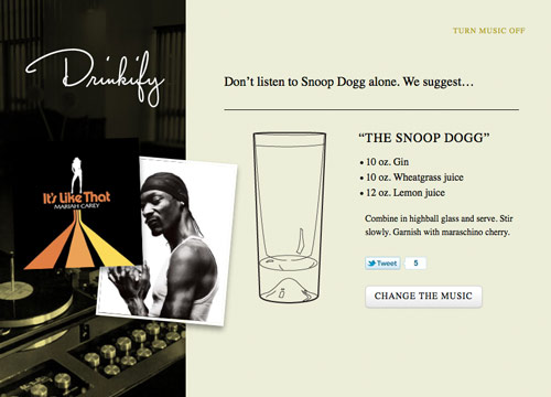 Snoop Drinkify