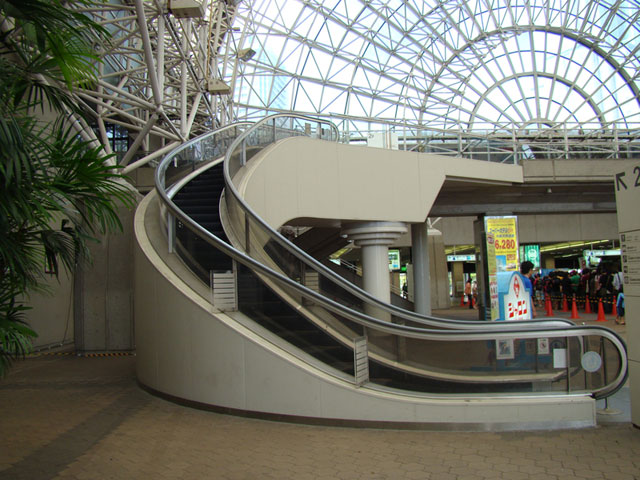 Spiral Escalator