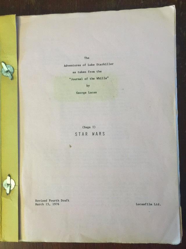 Star Wars Script