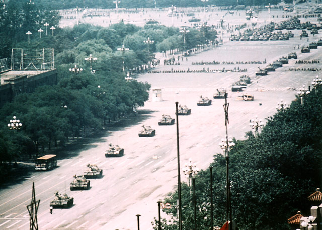 Tank Man Wide