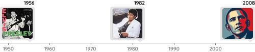 Thriller/Elvis Timeline