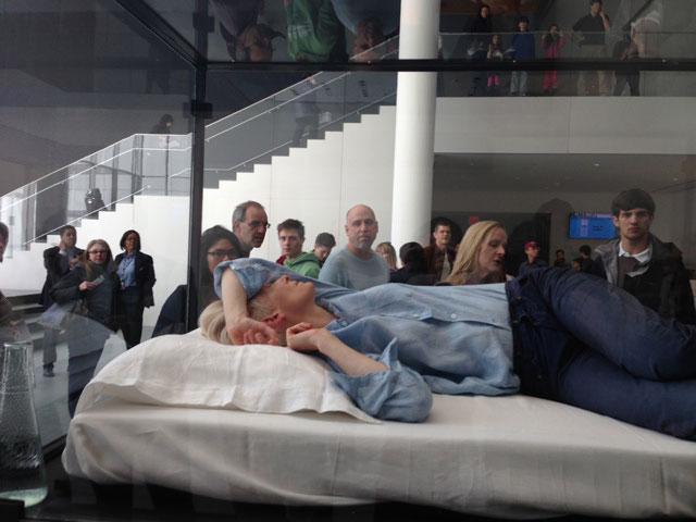 Tilda Swinton MoMA