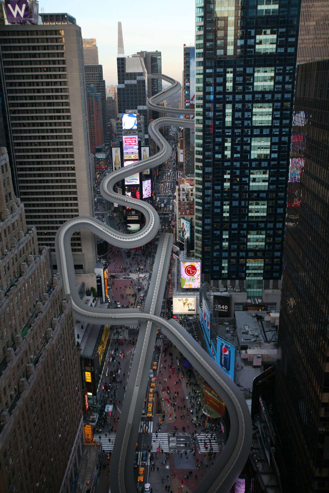 Times Square Bobsled