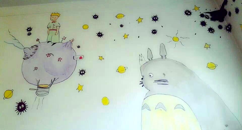 Totoro Little Prince