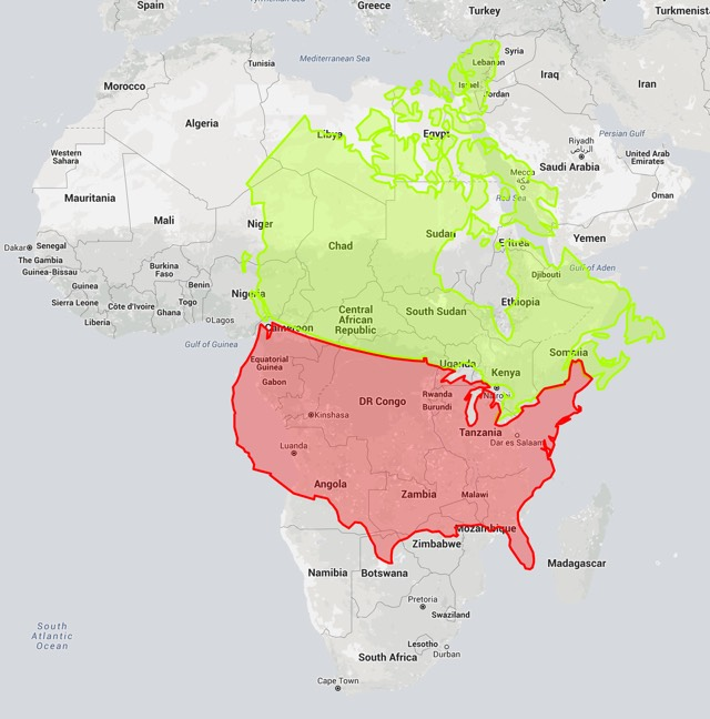Africa vs canada actual size credit cnn world map countries actual real size map gumiabroncs Image collections