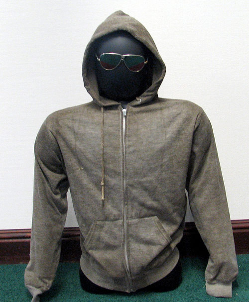 Unabomber sweatshirt