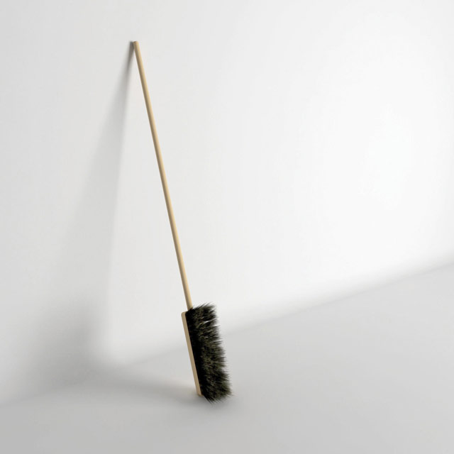 Uncomfortable broom