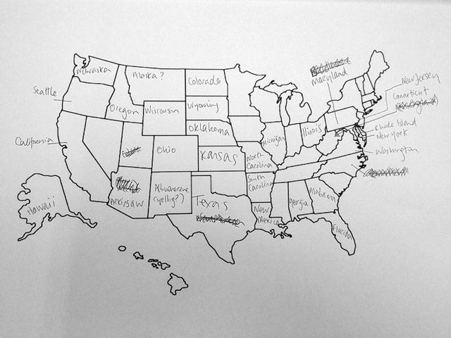 USA states brit