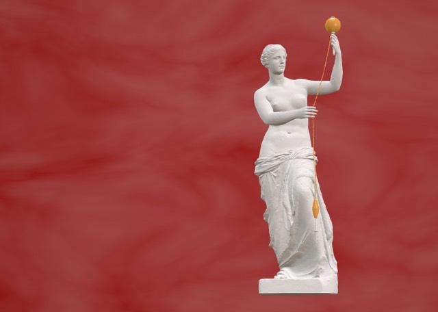 Venus De Milo with arms