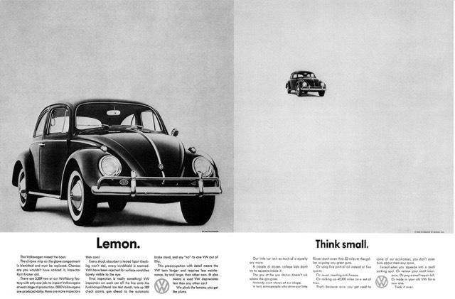 Volkswagen Ad 60s 01