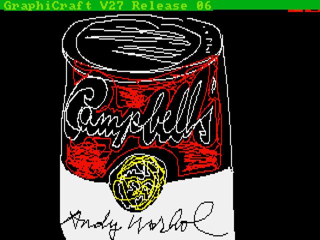 Warhol Soup Amiga