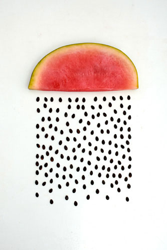 Watermelon rain