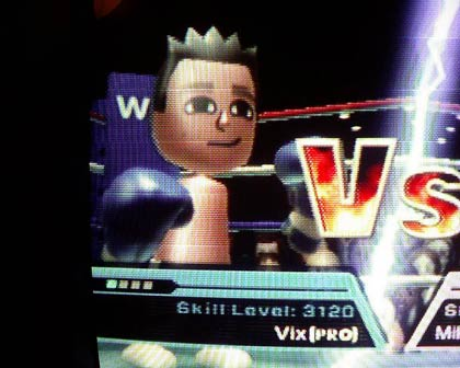 Wii Boxing 3210 score
