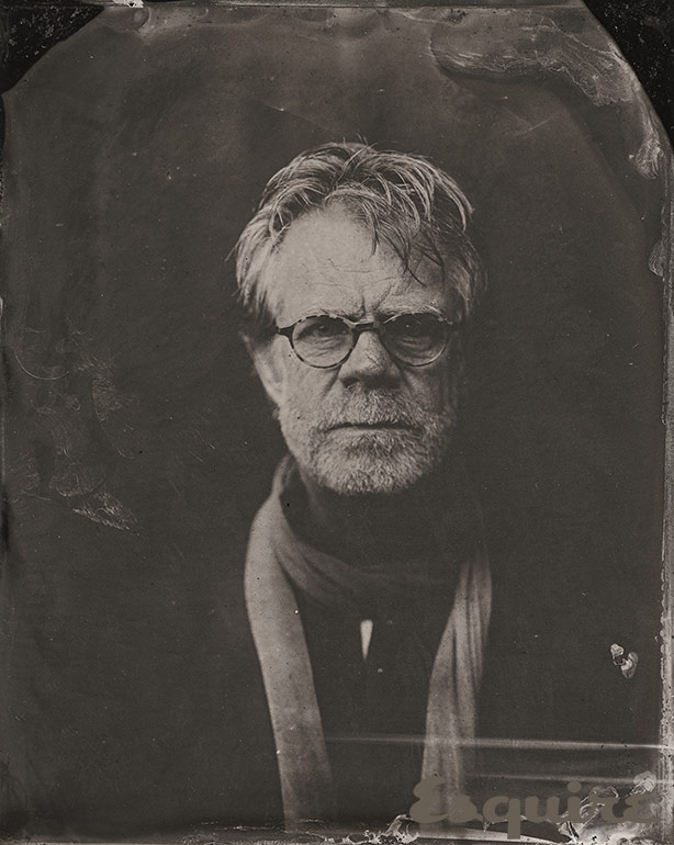 William H Macy Tin Type