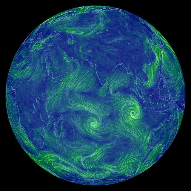Wind Map Earth