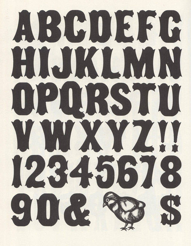 Alphabet Letters In Different Styles Wood type alphabets oct 17